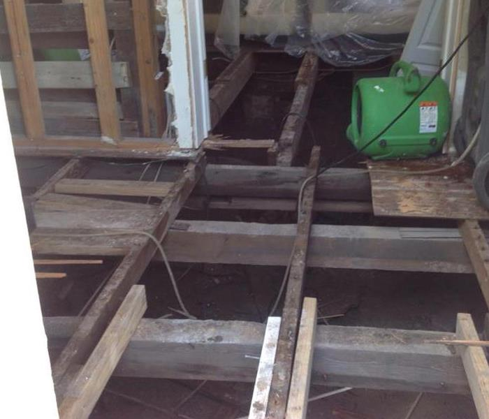 Floors of a Downtown Charleston Home- Hurricane Matthew