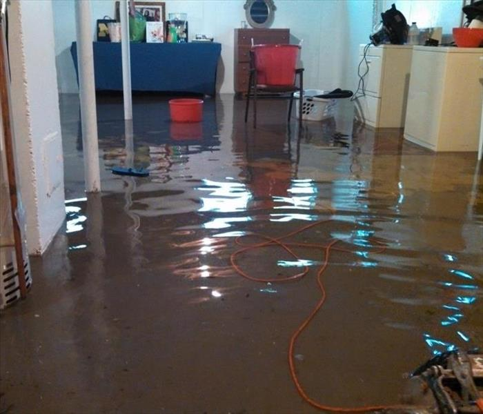 Water Damage Charleston Residents: We Specialize in Flooded Basement Cleanup and Restoration!